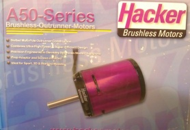 Brushles motors HACKER A50